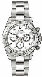 The Rolex Daytona White Dial. Time to Find the Best Watches for Men http://time-in-our-hands.com