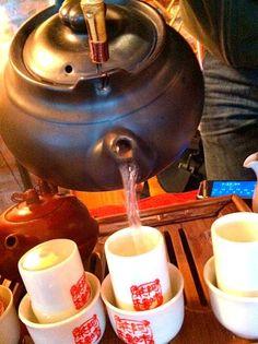 台湾でお茶