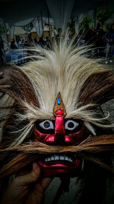 The Mask, at The Reog folkdance