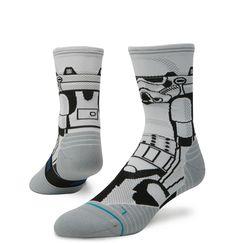 c5dd9dc05b104 Men s Stance Fusion Run Storm Trooper Crew Socks Medias Y Calcetines