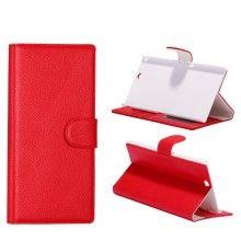 Buchdesign Tasche für Xperia Z Ultra - Rot 9,99 €
