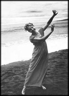 Anais Nin danced on the beach In Puerto Vallarta, 1973