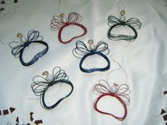 Wire Angel Ornaments (pictures) - Home Talk Entertainment Forums