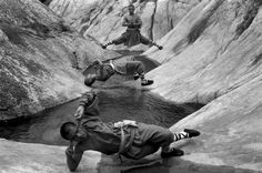These poses are amazing!! Black and White Photography by Polish photographer Tomasz Gudzowaty