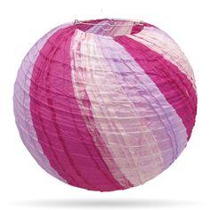 Meerkleurige lampion paars-roze nu verkrijgbaar bij http://www.candlebagplaza.nl/c-3701057/lampionnen-35-cm-meerkleurig/