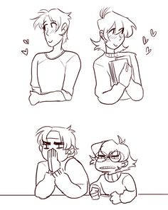 """Being Hunk and Pidge is suffering (submitted by: @peachy-matsu) """