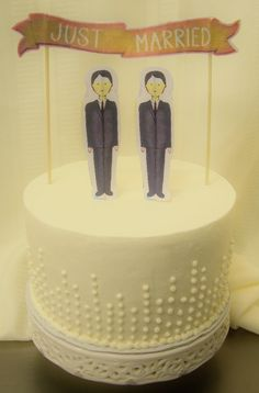 A little ceremonial cake by Kiss Me Cakes,Wellfleet MA.