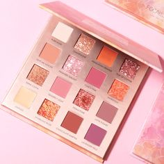 Sunrise FOCALLURE Brand new 16 colors palette - SUNRISE. The carefully curated 16 shades are studded with easy-to-use combinations. The flattering mattes and shimmer-drenched hues,are the best of both worlds. Make you different starting from this palette. Fall Eyeshadow Palette, Make Up Palette, Urban Decay Eyeshadow, Matte Eyeshadow, Eyeshadow Makeup, Makeup Cosmetics, Holographic Eyeshadow, Eyeshadow Crease, Drugstore Eyeshadow
