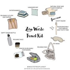 Low waste hacks 18 Charts To Help You Start Living More Sustainably Reduce Waste, Zero Waste, Travel Kits, Free Travel, Travel Hacks, Camping Hacks, Travel Ideas, Save Our Earth, Reduce Reuse Recycle