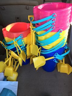 Get ready to imagine the possibilities with all the ways decor can happen with these buckets! cokesburyvbs.com