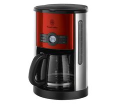 Buy today with free delivery. Find your Coffee machines . All the latest models and great deals on Coffee machines are on Currys with next day delivery. Red Coffee Maker, Coffee Maker With Grinder, Cheap Coffee Machines, Filter Coffee Machine, Small Kitchen Appliances, Household, Hobbs, Design, Electrical Appliances