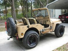1951 M38 Willys Jeep - Photo submitted by Bob Newbold.