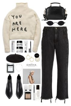 """U R HERE"" by breilachristou ❤ liked on Polyvore featuring Birchrose + Co., Rachel Comey, Givenchy, Halogen, Elizabeth and James, Bobbi Brown Cosmetics, Acne Studios, Bare Escentuals, Marc Jacobs and SkinCare"