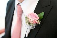 PERRRRRRRFECT!!!!! WHOOP WHOOP    pink tie and boutonniere