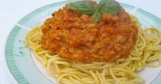 Bologna, Spagetti, Vegetarian, Vegan, Dishes, Ethnic Recipes, Chili, Food, Chile