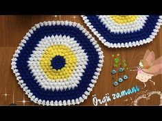 EN KOLAY NAZAR BONCUĞU LİF MODELİ #nazarboncuğulif #newknit #kolaylif #örgüzamanılifmodelleri - YouTube Blanket, Crochet, Youtube, Model, Scale Model, Ganchillo, Blankets, Cover