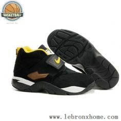 8ac644ac08fa Nike Air Dimaond Turf II Black White Yellow Shoes