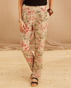 Jersey Trousers  #Womens #Ladies #Fashion #CottonEdits #cotton #Edits #British #Fashion #SS16 #cotton #edits #cottontraders #floral #jersey #trousers