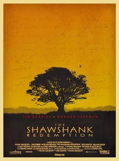 Shawshank Redemption Alternative Poster by 3ftDeep on Etsy