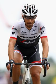 #TDF2016 Fabian Cancellara of Switzerland and TrekSegafredo crosses the finsh line on stage two of the 2016 Tour de France from SaintLo to CherbourgOcteville...