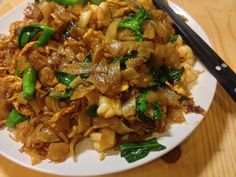 Yum Thai food. I need an easy-to-make Pad See Ew and I think I'm going to use this recipe.