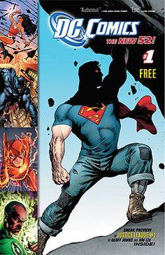 Superman en jeans et t-shirt... a real American Hero! #New52