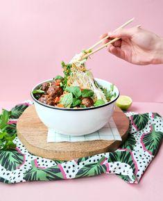 Vietnamese rice noodle salad recipe
