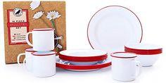 Enamelware 16 Piece Dinnerware Starter Set - Solid White ... https://www.amazon.com/dp/B00VSGVCLQ/ref=cm_sw_r_pi_dp_x_iW.gybPJQ6Y16