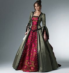 McCalls 6097  I would LOVE to have a place to wear something like this!