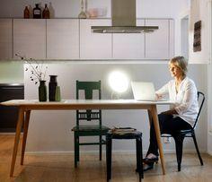 Rondo LED Bright Light SAD Table Lamp - Innolux