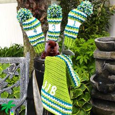 Perfect Crochet Golf Club Covers- free crochet pattern for Father's Day!