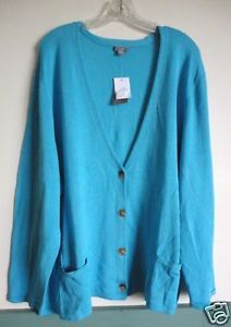 J. Jill Linen Cardigan | Details about NEW J JILL Linen Blend Cardigan Sweater ~ Aqua Blue 1X ...