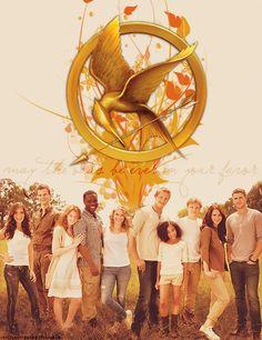 The Hunger Games Cast by ~breathingnewoxigen on deviantART