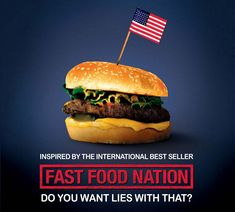 FAST FOOD NATION examines the health risks involved in the fast food industry and its environmental and social consequences. Love it or hate it fast food is a staple in the American diet. Chefs, Food Documentaries, Puerto Rico, Food Film, Movie Talk, Instant Video, Food Facts, Food Industry, Hamburger