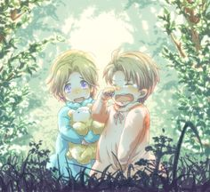 "...and that's why they are so close. They only had each other. (""I'm Sorry - Hetalia - America / Canada"")"