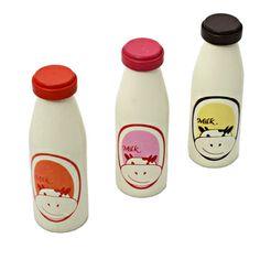 IMAGE Drewniana butelka na mleko  #wolniodplastiku #greenspiracje