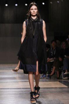 Sacai Ready To Wear Spring Summer 2014 Paris - NOWFASHION