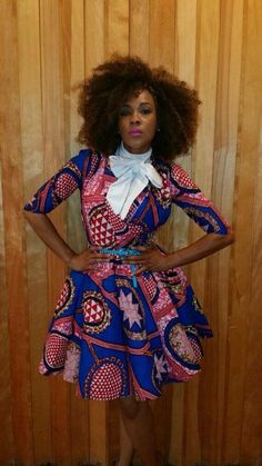 Get super trendy with these jaw-dropping Ankara styles! How cool is it to find a selection of cleverly designed Ankara styles that look fantastic, but which are not going to… African Inspired Fashion, African Print Fashion, Africa Fashion, Fashion Prints, African Prints, African Attire, African Wear, African Dress, African Style