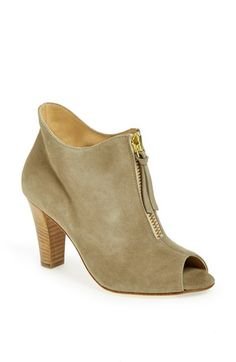Paul Green 'Topaz' Suede Peep Toe Bootie available at #Nordstrom