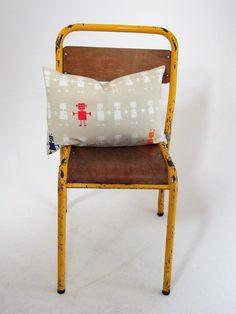 Harlequin+Reggie+Robot+Cushion+Cover, £8.00 kids childs bedroom