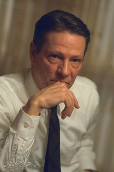 Chris Cooper as closeted gay colonel Frank Fitts in American Beauty (1999)