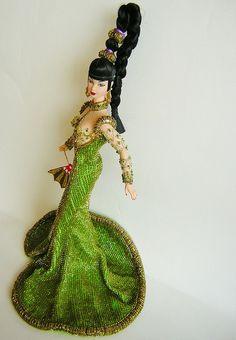 BARBIE BOB MACKIE FANTASY GODDESS OF ASIA 1998 by Rod_Dolls, via Flickr