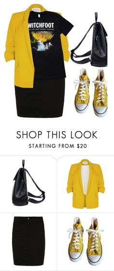 """""""// """"Yeah your wounds are where the light shines through""""... //"""" by shalom11 ❤ liked on Polyvore featuring River Island, M.i.h Jeans and Converse"""