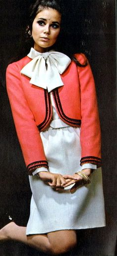 1960s Red and White cute jaked