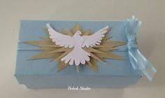 Caixa para dois macarrons e caixa com oração e tercinho pa… | Flickr - Photo Sharing!