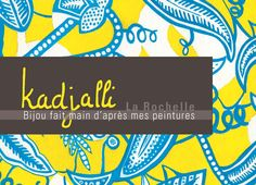 carte de visite afrique peinture kadjalli