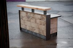 60 reclaimed reception desk by buschdesign on Etsy