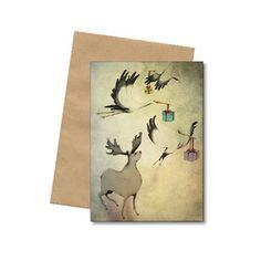Vi fører det smukke julekort fra Bob Noon. Bl.a. dette Christmas julekort, som fuldføre årets julegave. Køb et stort udvalg af Bob Noon her.