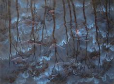 "Lin Onus's ""Gathering Storm"""