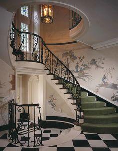 Stately Georgian home, Philadelphia. Gil Walsh Interiors. O.O